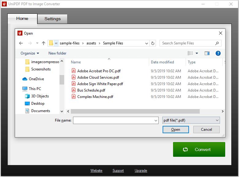 UniPDF PDF to Image Converter 1.3.3 full